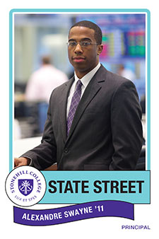 Alexander Swayne, State Street Global Advisors, Principal from Stonehill College