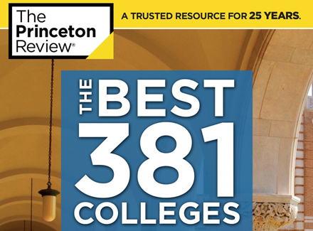 Stonehill Again Named One of Nation's Best Colleges by The Princeton Review