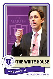 David Simas, The White House, Presidential Advisor from Stonehill College