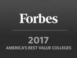 "Forbes Names Stonehill a 2017 ""Best Value"" Based on Quality, Grad Earnings"