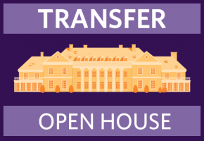 Transfer Open House - illustration of Donahue Hall