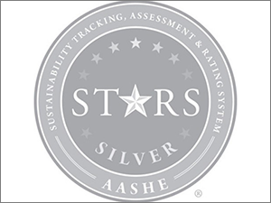 AASHE Honors Stonehill with Silver Rating for its Sustainability Achievements