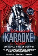 Stonewall Karaoke Night!