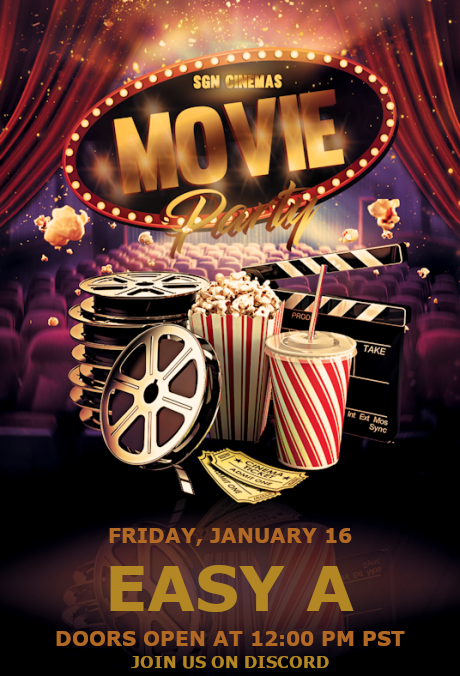 Movie Night Friday
