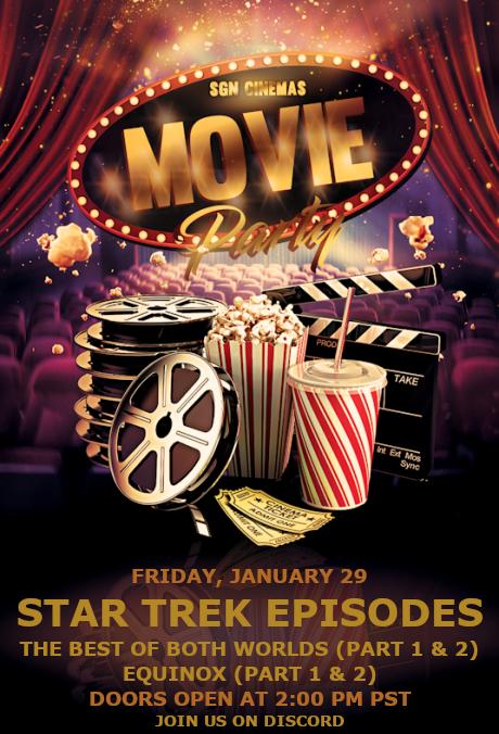 Movie Night Friday