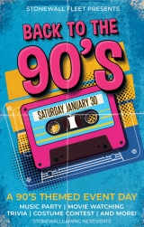 Stonewall 90's Party!