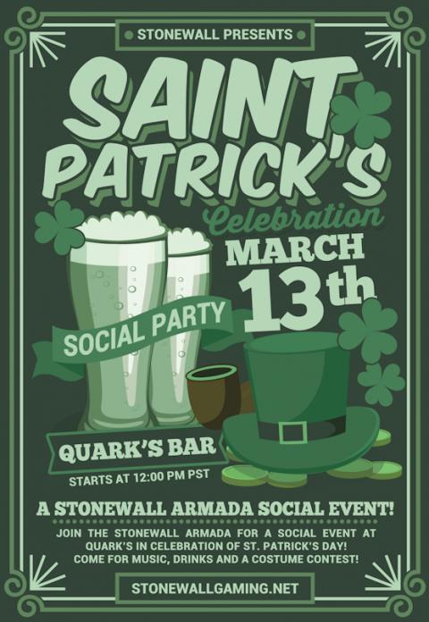 Saint Patrick's Day Social!