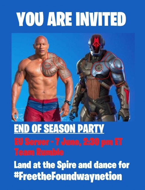 Fortnite C2S6 End Of Season Party