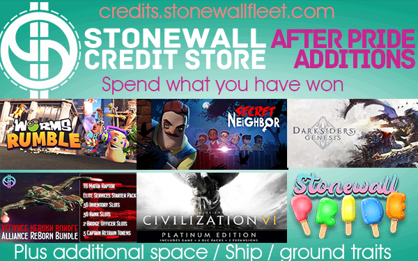 Spend what you've won over the Stonewall Pride weekend!