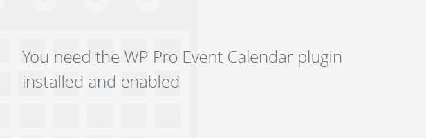 Wordpress Pro Event Calendar - Payment Extension