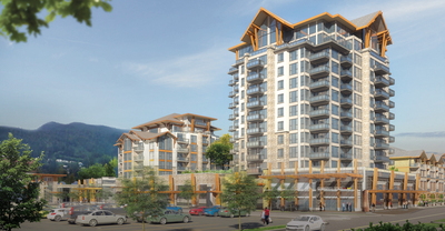 Lynn Valley Condo for sale: The Residences at Lynn Valley 1 bedroom 613 sq.ft. (Listed 2019-08-15)