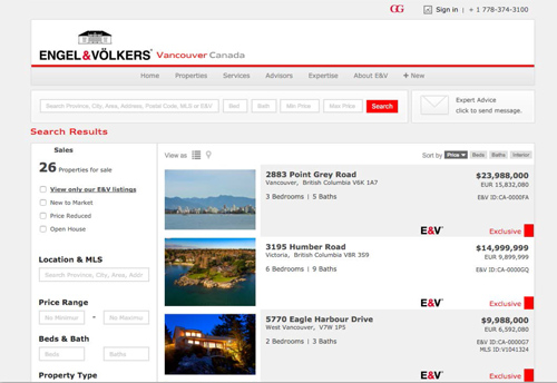 E&V Websites Photo
