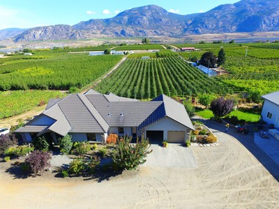 OSOYOOS Home, Cidery Business, Farm for sale:  5 bedroom 4,022 sq.ft. (Listed 2017-09-21)