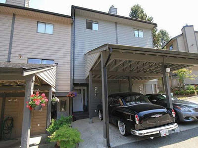 North Shore Pt Moody Townhouse for sale:  3 bedroom 1,289 sq.ft. (Listed 2015-06-09)