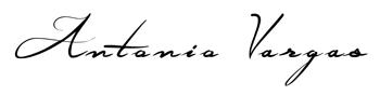 Antonio Vargas signature