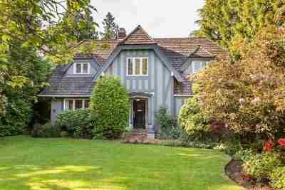 Shaughnessy House for sale:  5 bedroom 4,441 sq.ft. (Listed 2017-12-26)