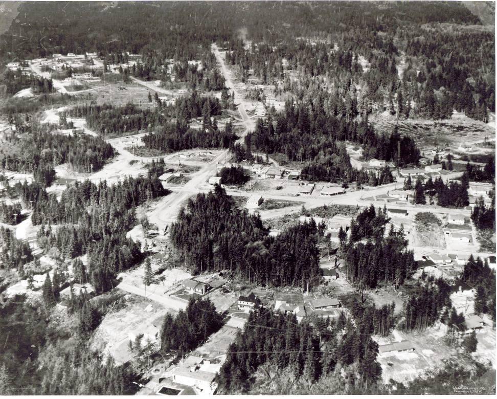 Edgemont Village 1950's