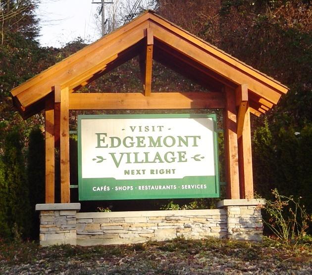 Edgemont Village SIgn
