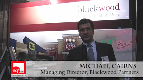Michael Cairns, Managing Director speaks about Blackwood Partners projects at ICSC