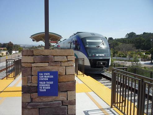 CSU San Marcos Train