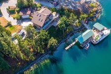 Waterfront Home & Dock in Gorgeous Secret Cove For Sale