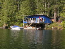 Cottage & Acreage on Sakinaw Lake, Pender Harbour - For Sale