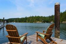3 Bedroom Waterfront Home with Dock in Secret Cove For Sale