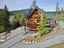 Pender Harbour View Home & Acreage + Cottage + Workshop for sale