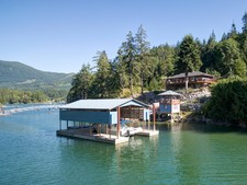 Waterfront Home, Cottages & Dock in Pender Harbour For Sale