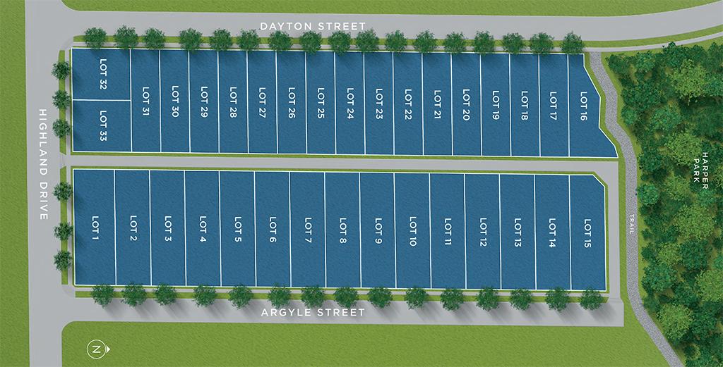 Larchwood Siteplan