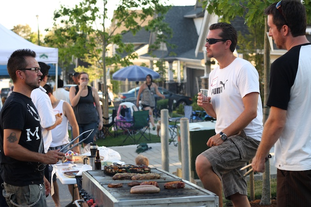 2010 Block Party - BBQ