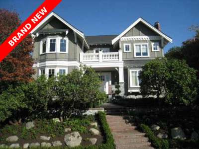 Shaughnessy House for sale:  6 bedroom 5,420 sq.ft. (Listed 2010-09-30)