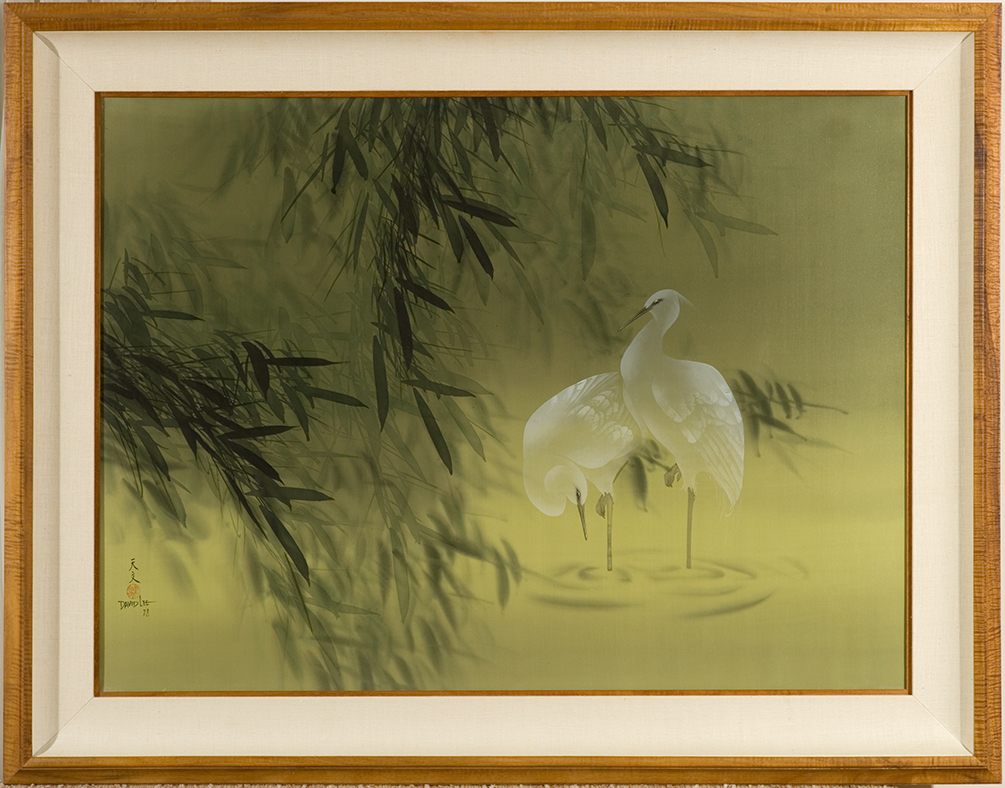 David Lee White Herons