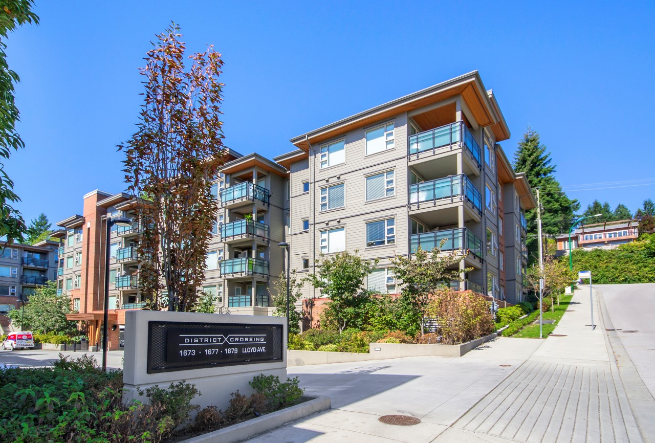 204 1673 Lloyd Avenue Pemberton Condo for sale: District Crossing 2 bedroom