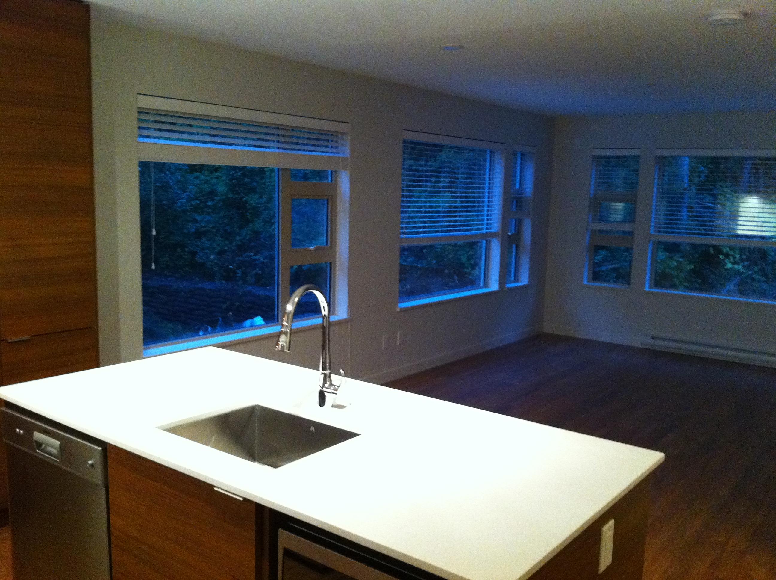 Pemberton Heights Condo for sale:  1 bedroom  Stainless Steel Appliances, Granite Countertop, Tile Backsplash, Glass Shower, Laminate Floors 690 sq.ft. (Listed 2011-10-11)
