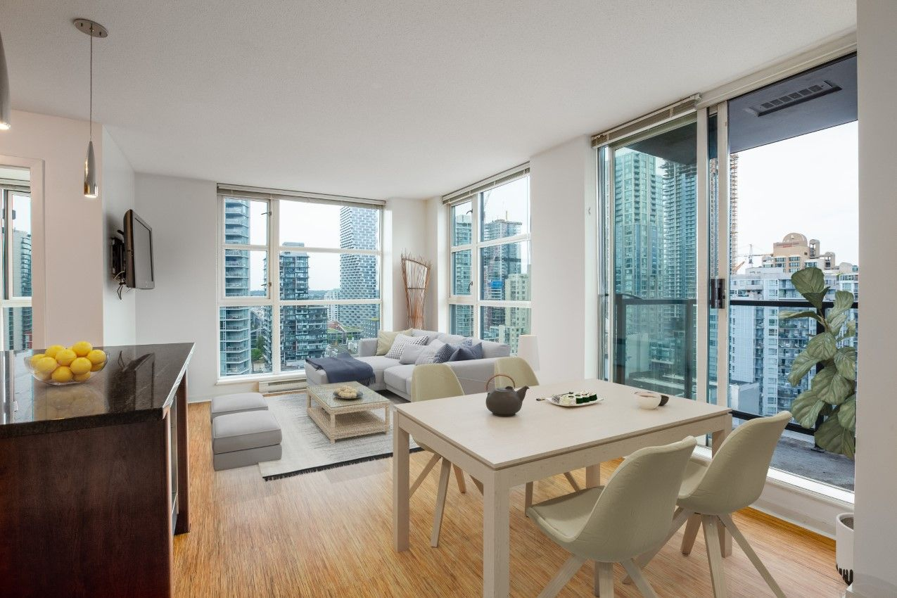 Yaletown Condo for sale: Brava by Amacon 1 bedroom 635 sq.ft.