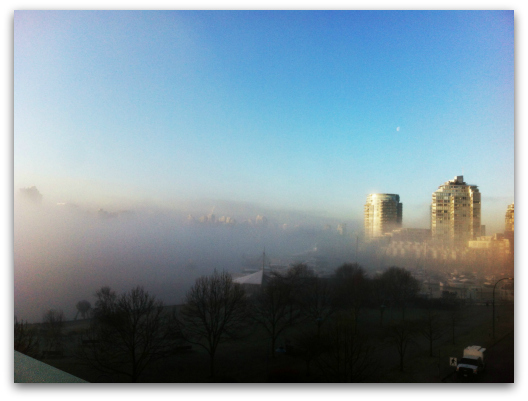 Foggy Vancouver 2