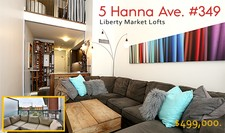 Liberty Village Condo LOFT STYLE for sale: Liberty Market Lofts 1 bedroom 640 sq.ft. (Listed 2018-08-16)