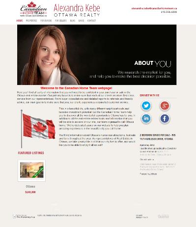 Alexandra Kebe Canadian Home Team 400