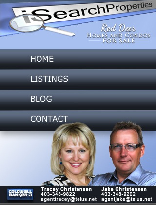 Red Deer Homes and Condos Mobile Website