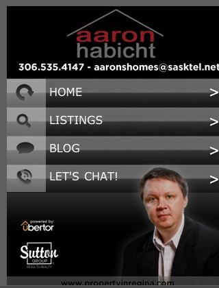 Ubertor Mobile Website - Aaron Habicht