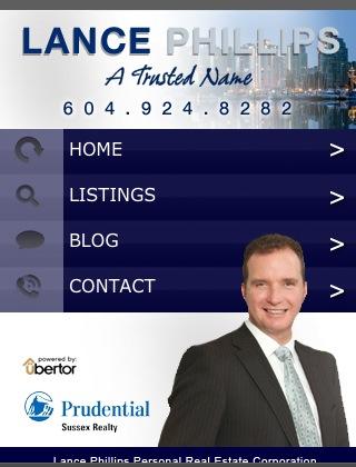 Ubertor Mobile Website - Lance Phillips