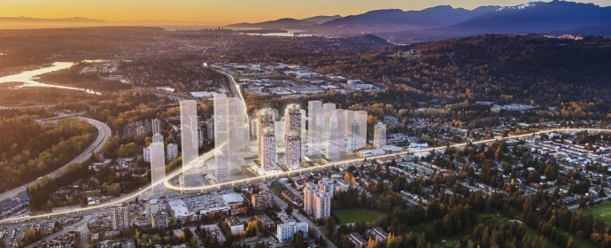 The City of Lougheed FIRST NEIGHBOURHOOD : TOWER ONE