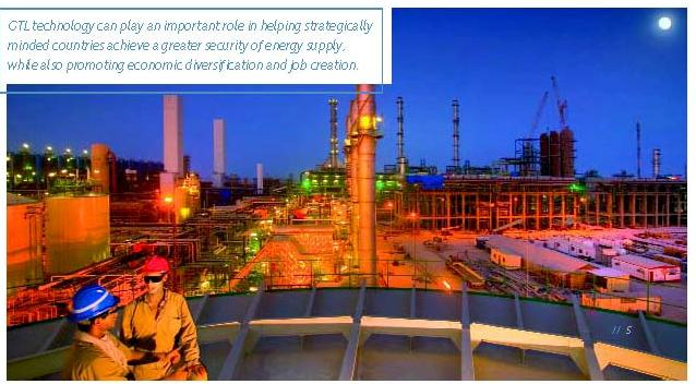 Sasol GTL refinery