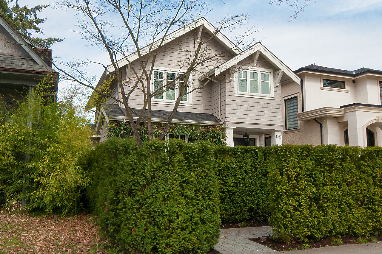 CAMBIE Village CUSTOM BUILT MODERN FAMILY HOME for sale:  4 bedroom 2,640 sq.ft. (Listed 2018-03-30)