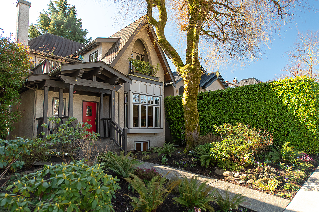 POINT GREY  POINT GREY CUSTOM BUILT HOME for sale:  4 bedroom 2,367 sq.ft. (Listed 2020-09-09)