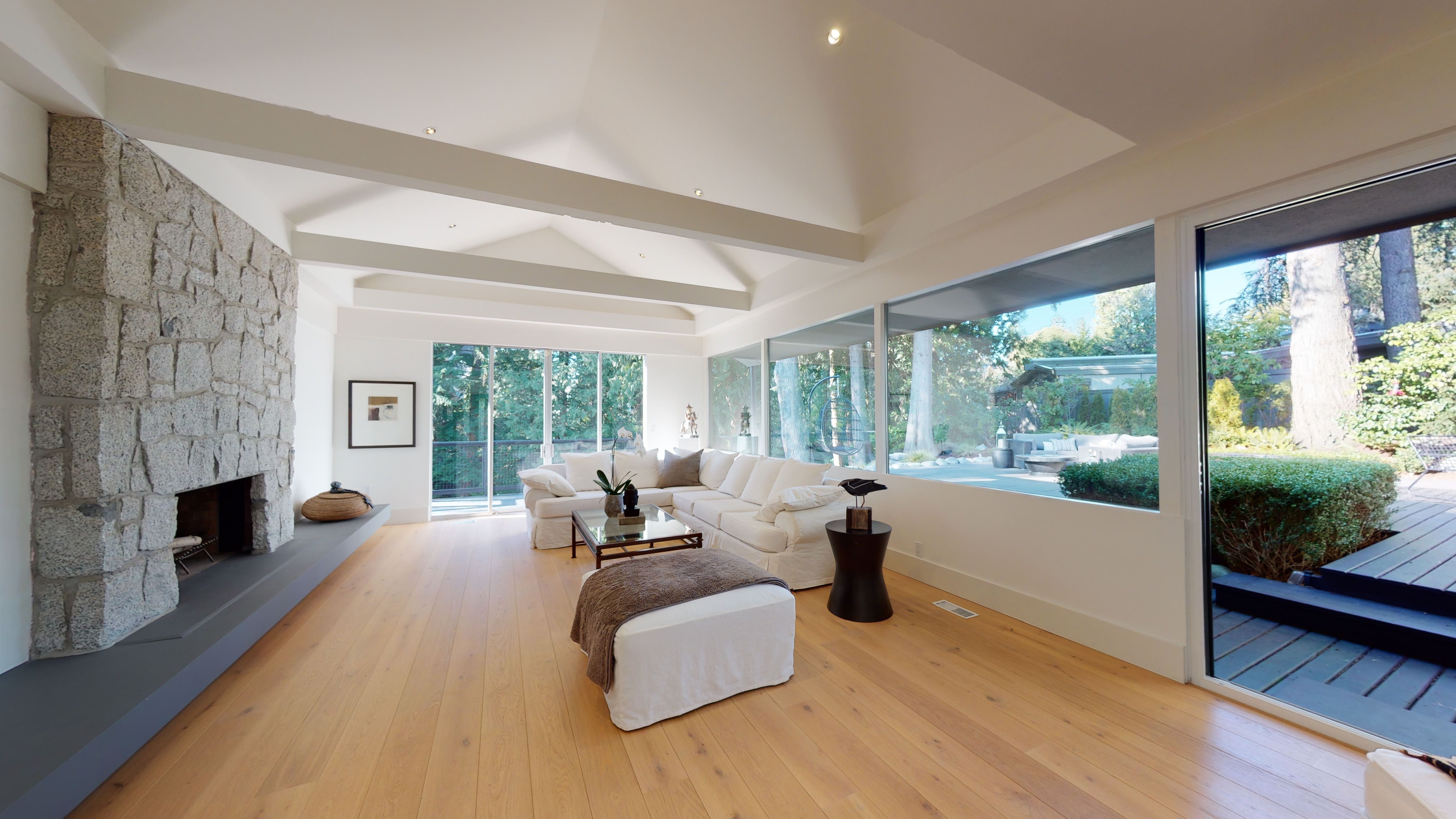 Vancouver Spectacular contemporary view home set on park-like 1/2 acre for sale:  5 bedroom 4,800 sq.ft. (Listed 2021-02-15)