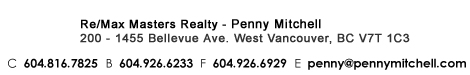 Penny mitchell north vancouver west vancouver real estate