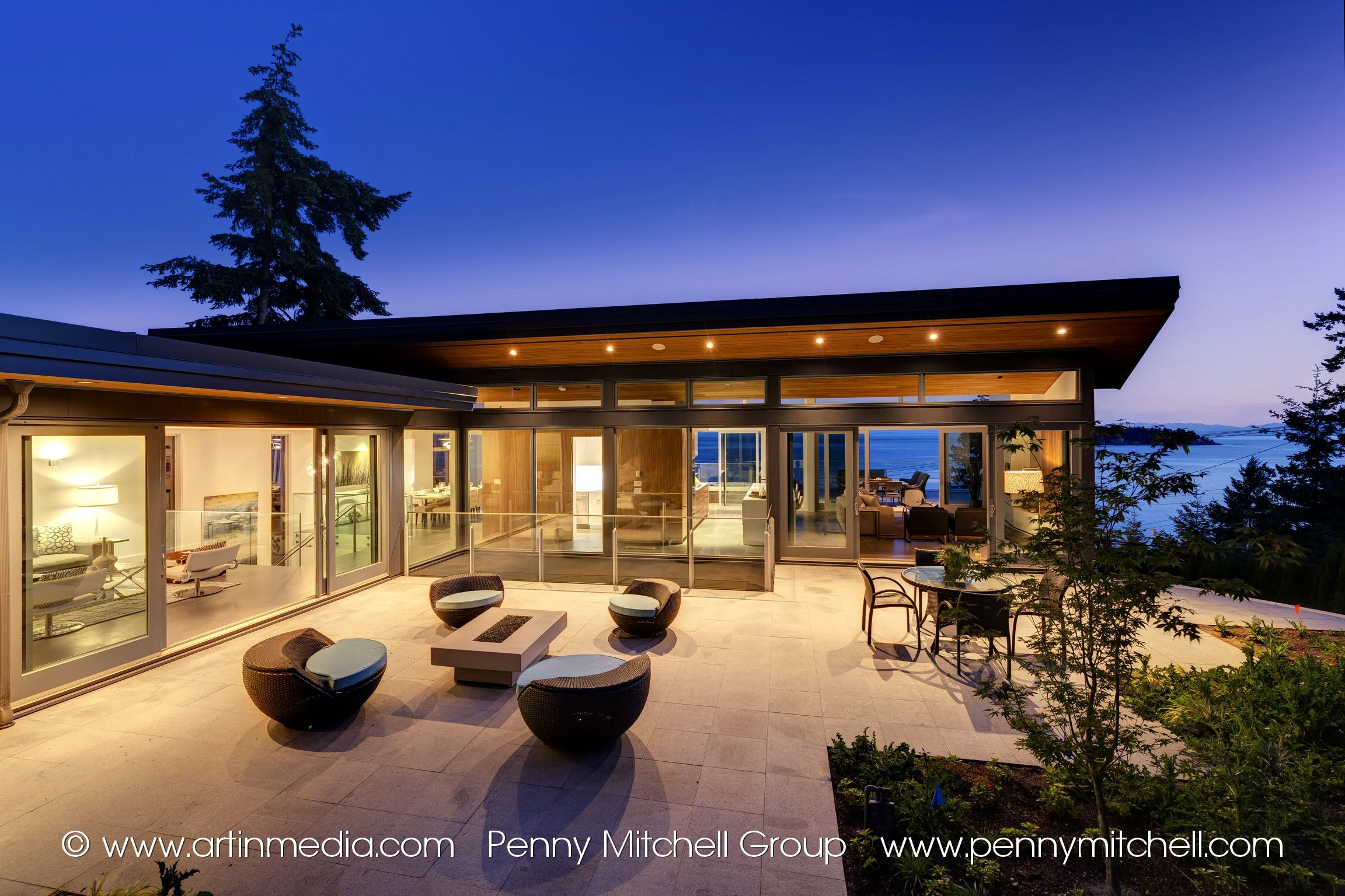 Eagleridge House for sale: SEMI-WATERFRONT, Brand-New modern 5 bedroom home.