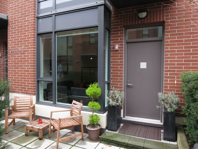 Kitsilano Townhome for sale: Viridian Green 3 bedroom 1,411 sq.ft. (Listed 2012-02-08)